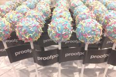 Proof Point Branded Cake Pops