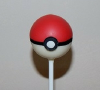 Poke Ball Cake Pop