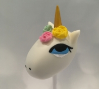 Unicorn 2 Cake Pop