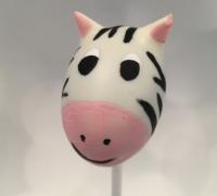 Zebra Cake Pop