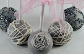Wedding Cake Pops and Favours