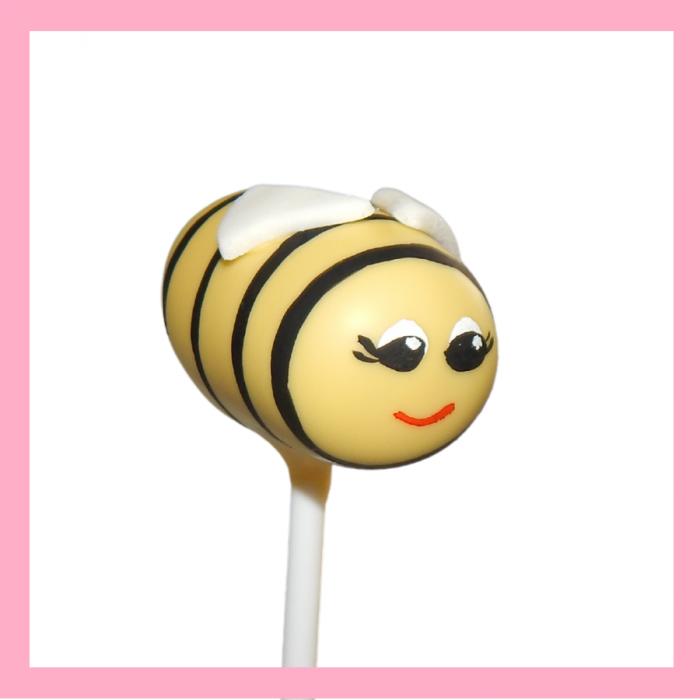Bee cake pop