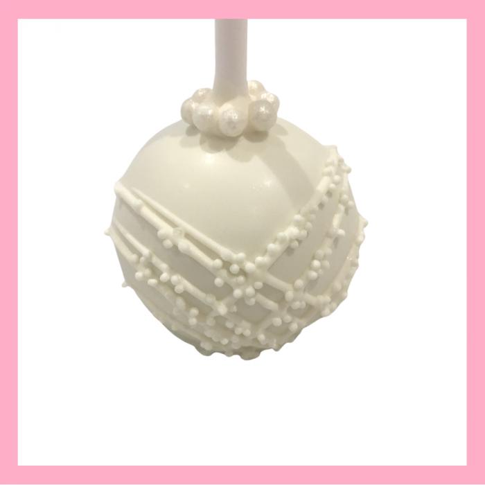 Bride cake pops