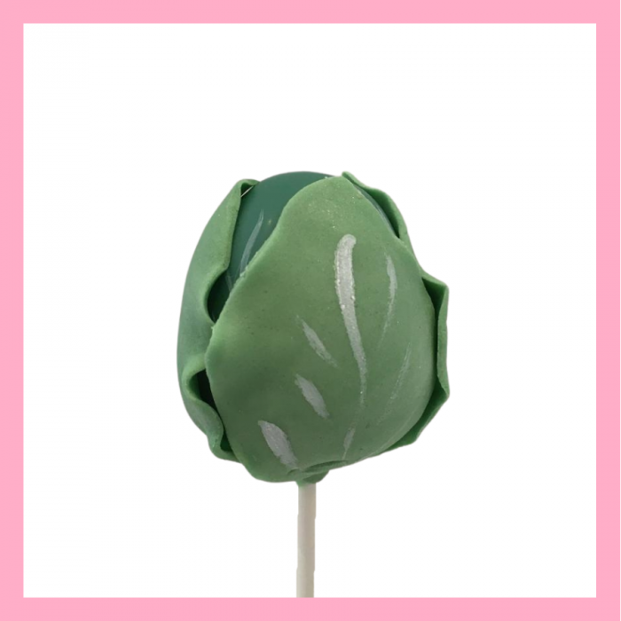 Brussel sprout cake pops