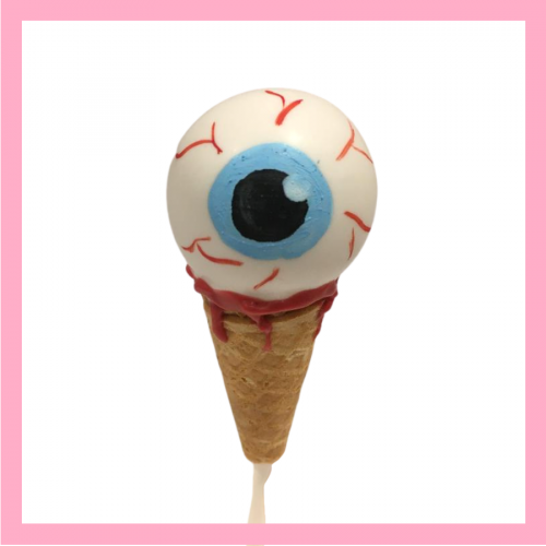 Eye Scream cake pops