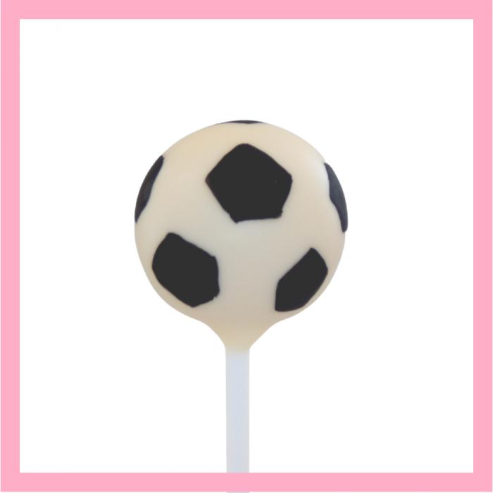 Football cake pop