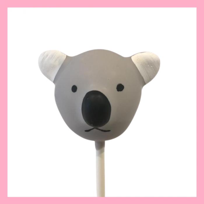 Koala bear cake pops