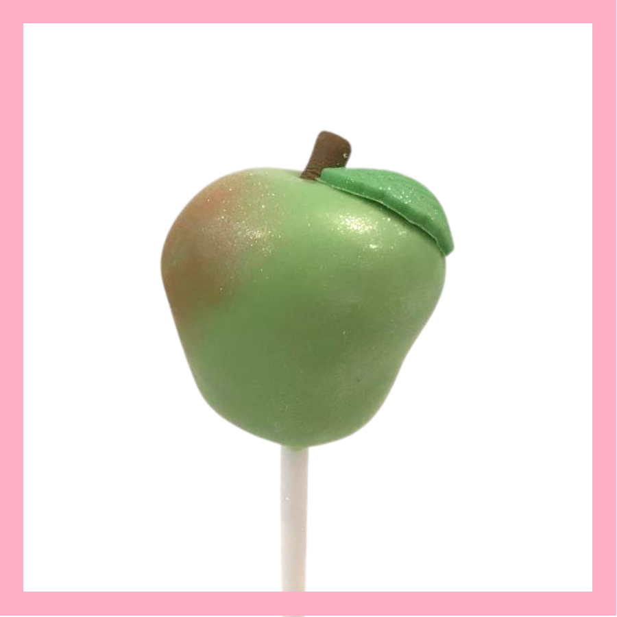 Apple cake pops