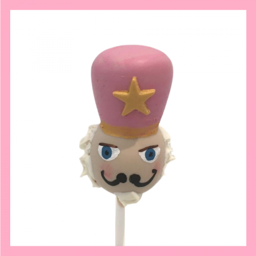 Nutcracker cake pops