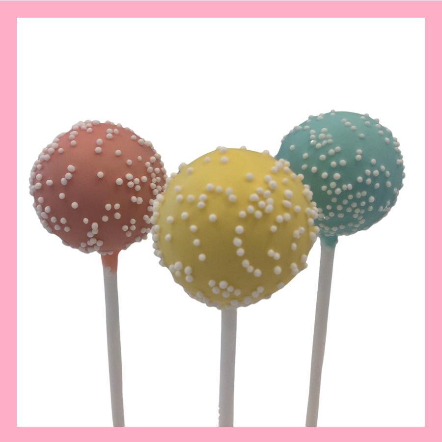 Pastel Mix cake pops