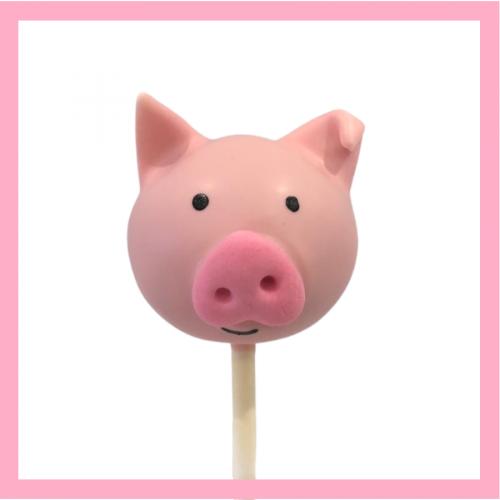 Pig Cake pop