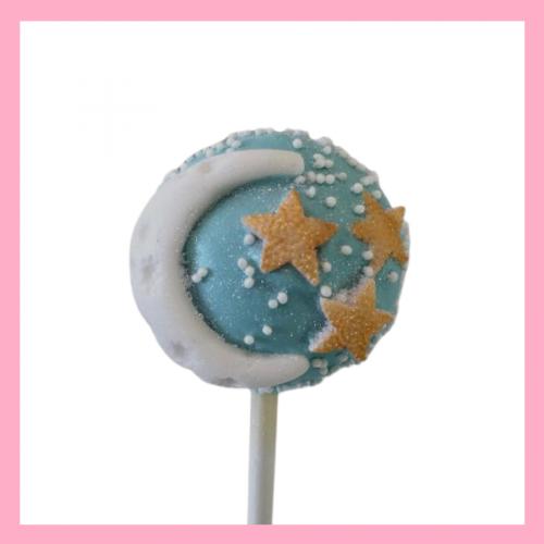 Twinkle twinkle cake pops